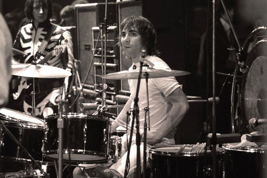 Keith Moon, 1970 on Premier Double Bass Kit